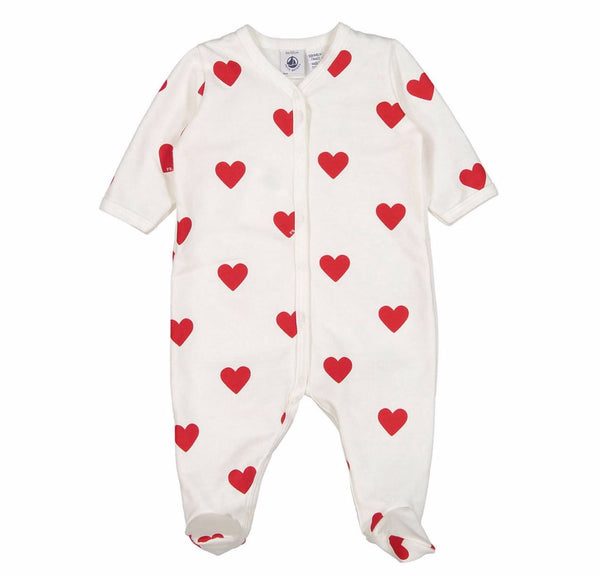 Red Hearts Printed Sleeper