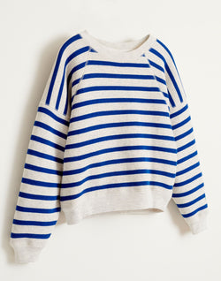 FADE SWEATSHIRT - Blue STRIPE A