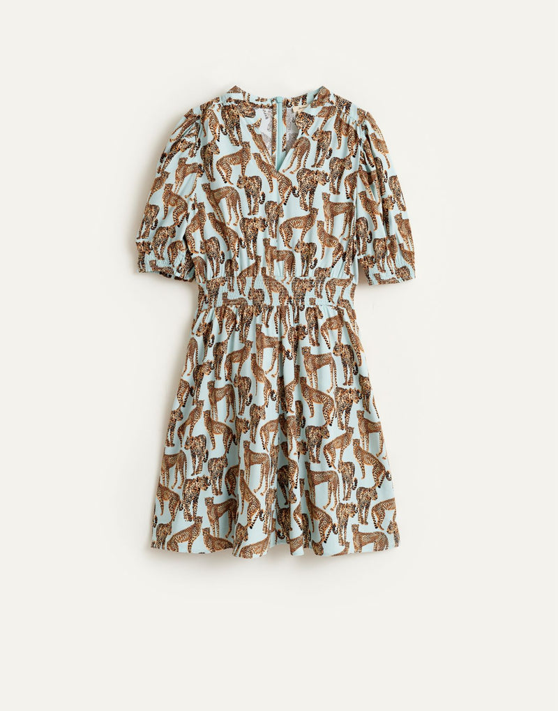 PINKO Cheetah Printed DRESS - Blue