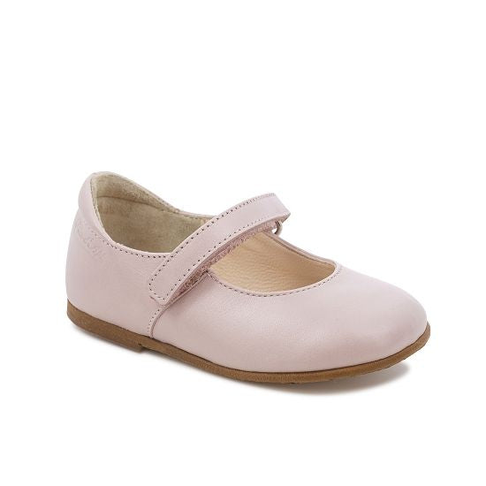 Tetel Classic Leather Mary Janes - Ballet Pink