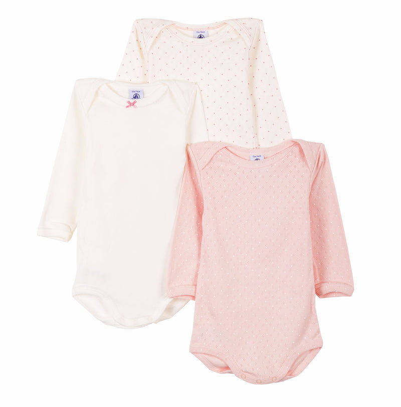3 Pack of Long Sleeve Bodysuits - US ML- 5620800
