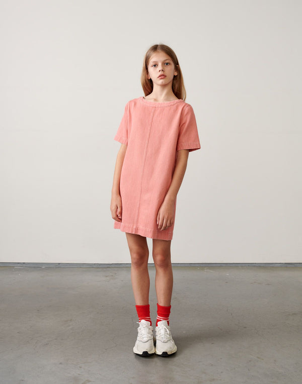 AMELIE DRESS - BLEACHED Pink