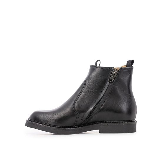 UNCLE JOD Leather Boot - NOIR