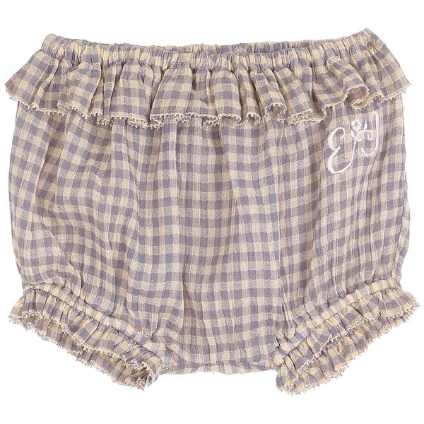 Gingham Bloomers - Peche