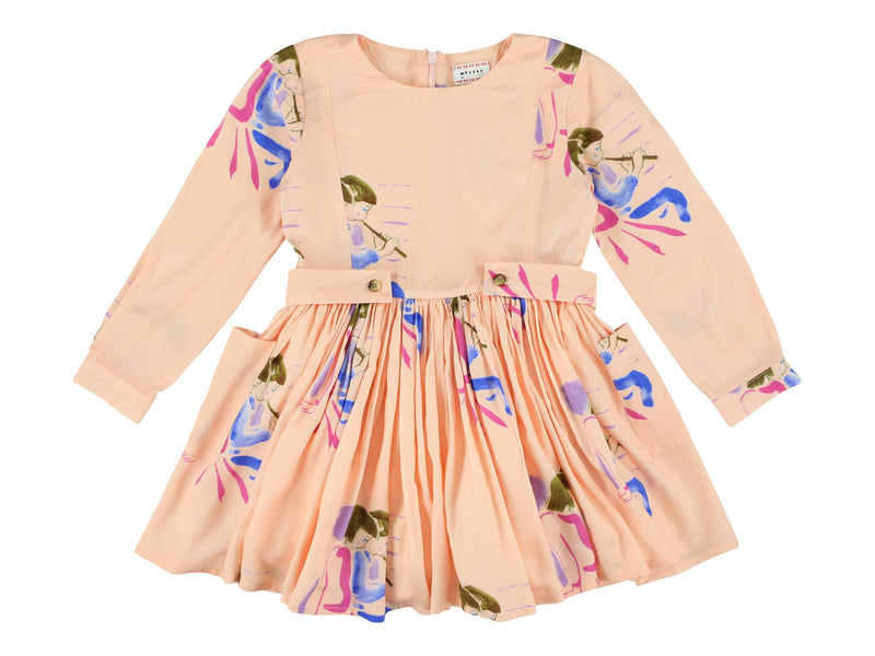 MAY KIDS Print Dress - CACTUS FLOWER