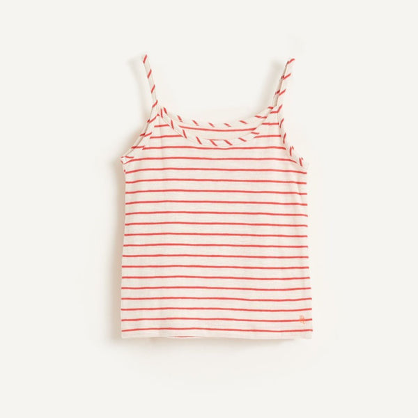 AMIL Tank TOP - Red STRIPE C