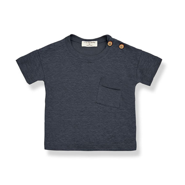 GABRIEL short sleeve t-shirt-anthracite