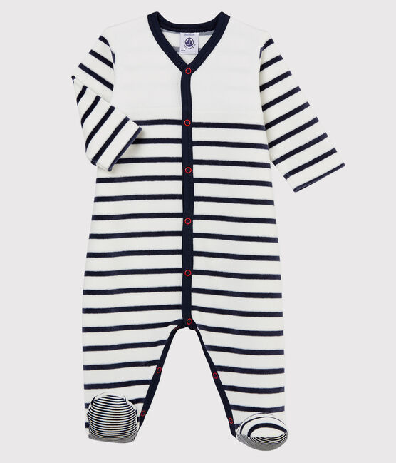 Striped Velour Sleeper - 5549201