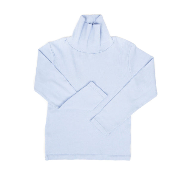 MOLLIE RIB Turtleneck - GLACIER
