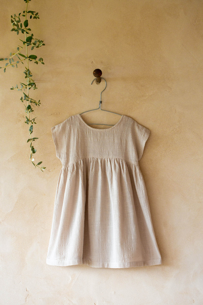 BRUNA dress-beige