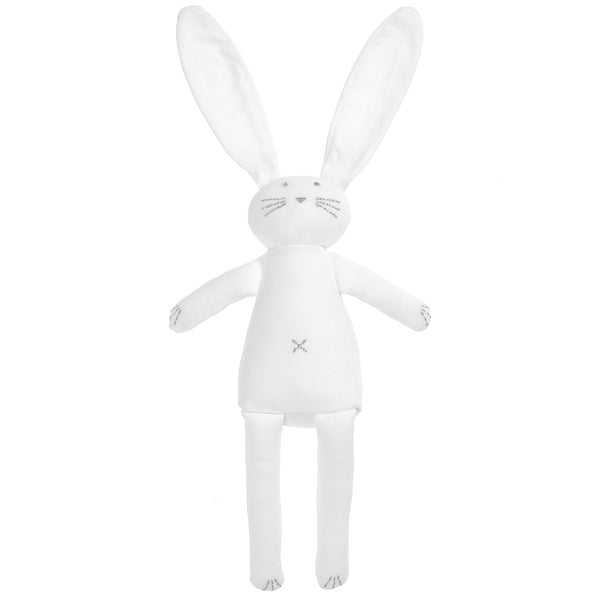 Small Stuffed Bunny - White