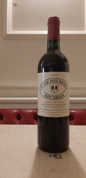 Château Pavie Macquin Grand Crù Classé St. Emilion Grand Crù 1998