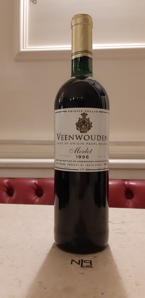 Veenwouden Private Cellar Reserve Merlot, Paarl, South Africa 1996