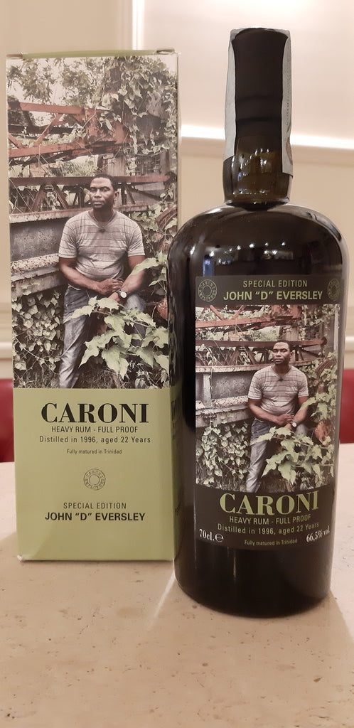 "CARONI Rum ""John 'D' Eversley - Special Edition"" 1996 - (0.7l)"