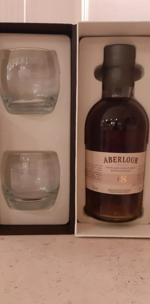 Aberlour 18 years old gift pack 70 cl