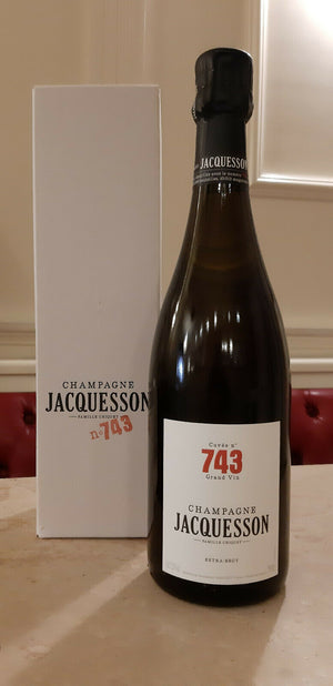 "Champagne Extra Brut ""Cuvée N° 743"" - Jacquesson (astuccio)"