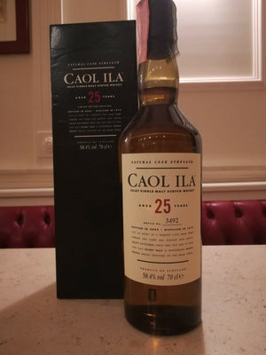 CAOL ILA AGED 25 YEARS Bottle Bottle No. 3492