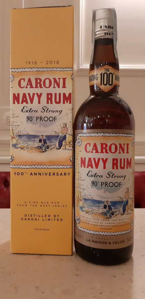 CARONI NAVY RUM EXTRA STRONG 90 PROOF 51,4%