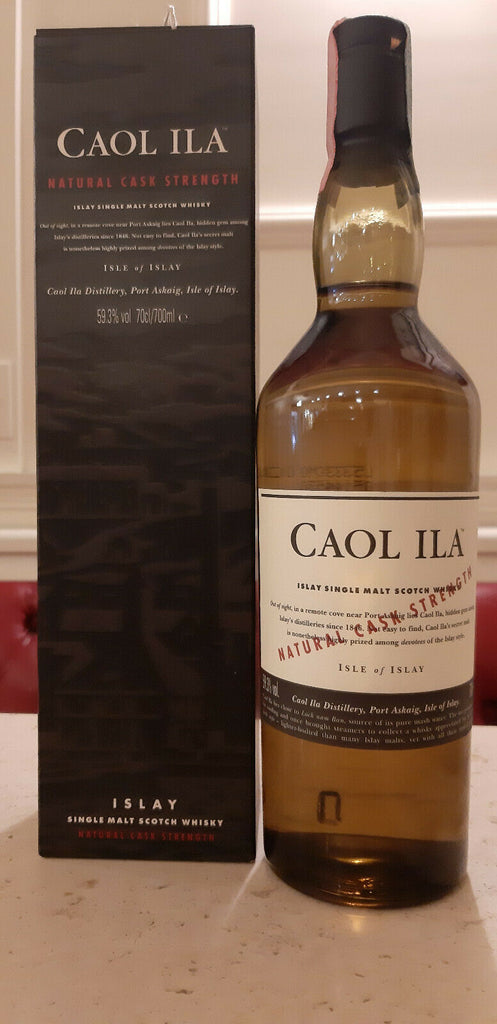Caol Ila Natural Cask Strength 59.3 % Vol.