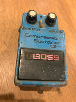 BOSS - CS-1 - Compression Sustainer 1979 MIJ