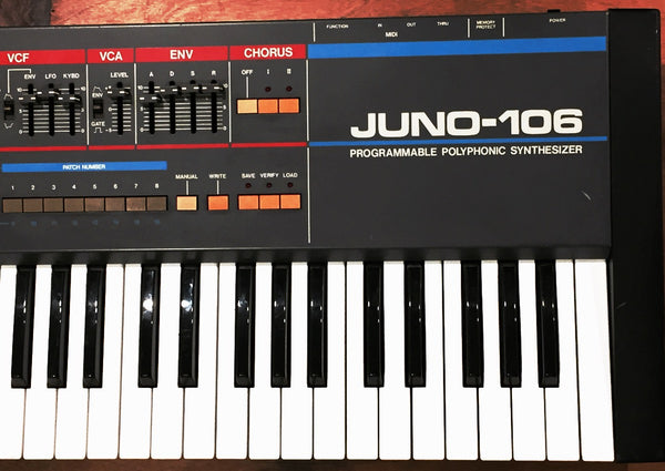 Roland - Juno 106 - 80's Classic - Fully refurbished