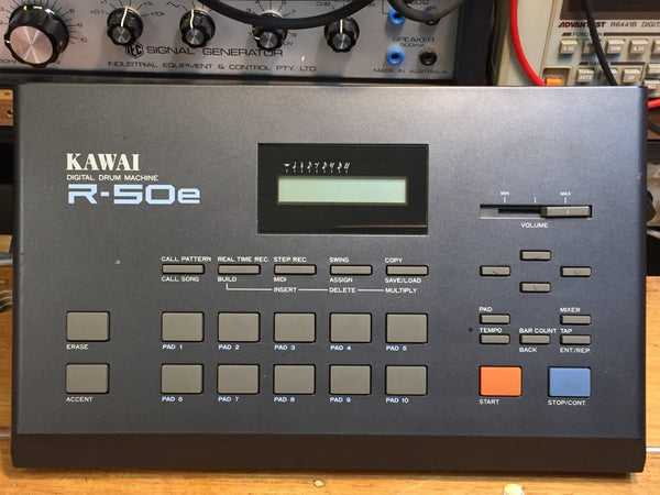 Kawai - R-50e - Vintage Japan - Industrial / LoFi Gated Electro Drums