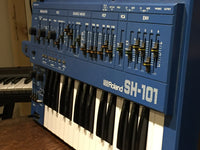 Roland - SH-101 - Vintage Monophonic Synth - BLUE - Serviced