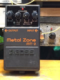 BOSS - MT-2 - Metal Zone - The sound of Metal! 1999 Taiwan