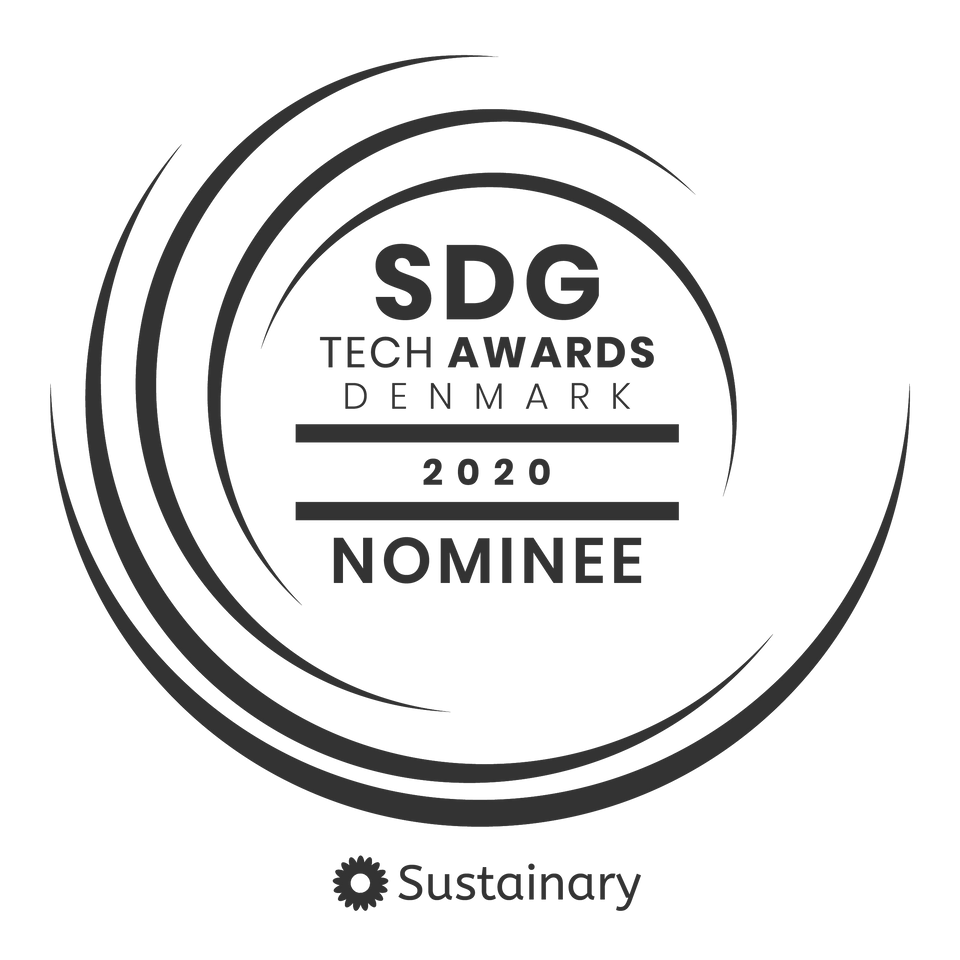 SDG Tech Awards Nominee Denmark 2020