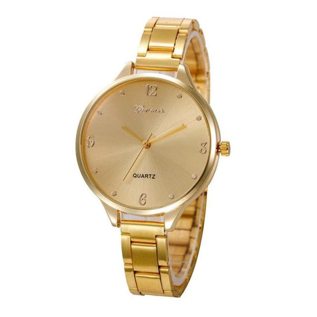 Top Brand Luxury Women Fashion Quartz Watch Date Clock Female