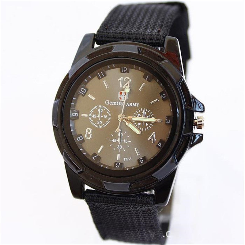 Saat Real Alloy 2017 New Business Quartz Watch Men Watches Brand Military Army Wristwatch