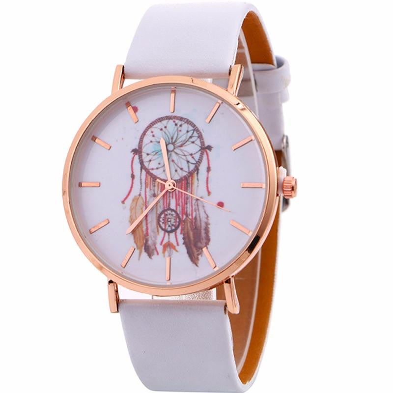 Watch Women 2019 Faux Leather Womens Watches Montre Femme Lady
