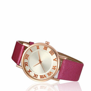 Fashion 2019 Quartz Watch Women Simple Desgin Leather Band