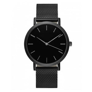 Lover's Quartz Analog Wrist Delicate Metal Mesh Watch Luxurysiness Watches