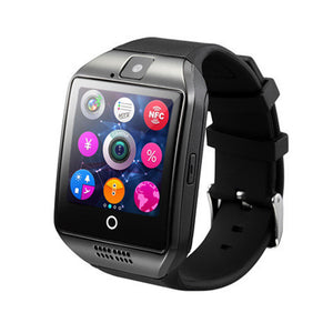 Q18 Smart Wrist Watch Bluetooth Smartwatch Phone with Camera TF/SIM Card Slot GSM