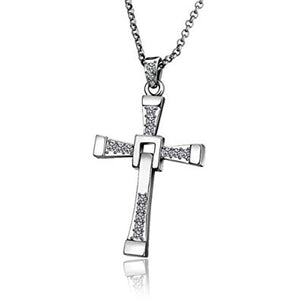 Fast and Furious Necklace, Dominic Toretto Cross Necklace