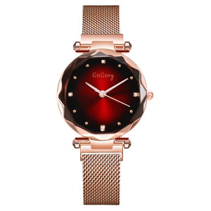 Gogoey Brand NEW Women Watch Stainless Steel Magnet Strap