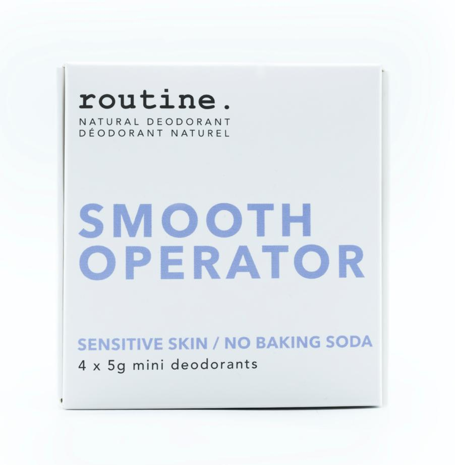 A girl named sue, one of routine's popular scents for sensitive skin.