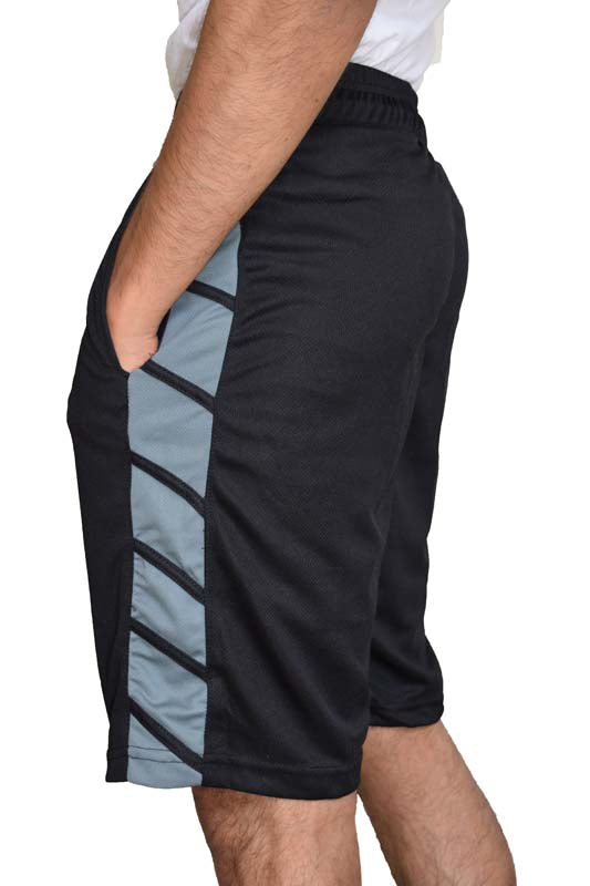 Mens-Basketball-Gym-Fitness-Workout-Athletic-Shorts-with-2-Pockets-M-XL-Fast-Dri thumbnail 78