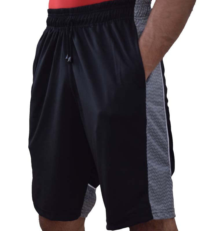 Mens-Basketball-Gym-Fitness-Workout-Athletic-Shorts-with-2-Pockets-M-XL-Fast-Dri thumbnail 50