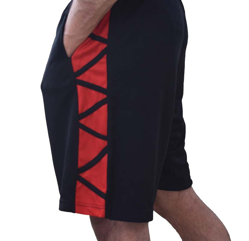 Mens-Basketball-Gym-Fitness-Workout-Athletic-Shorts-with-2-Pockets-M-XL-Fast-Dri thumbnail 39