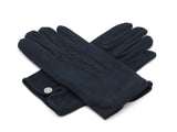 Black cotton dress gloves