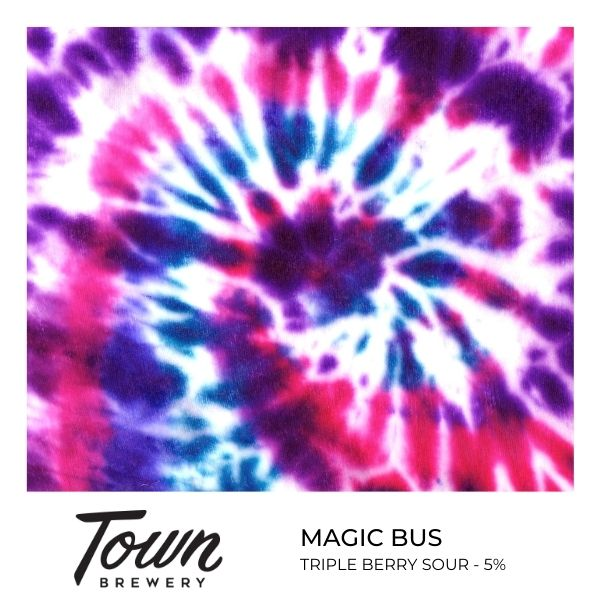 Magic Bus - Triple Berry Sour - 30L Keg