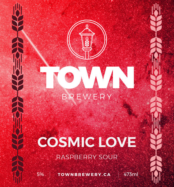 Cosmic Love - Raspberry Sour