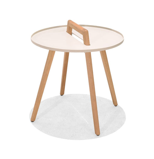 Nassau Side Round Table | Coral Sand
