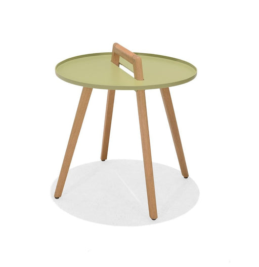 Nassau Side Round Table | Sage Green