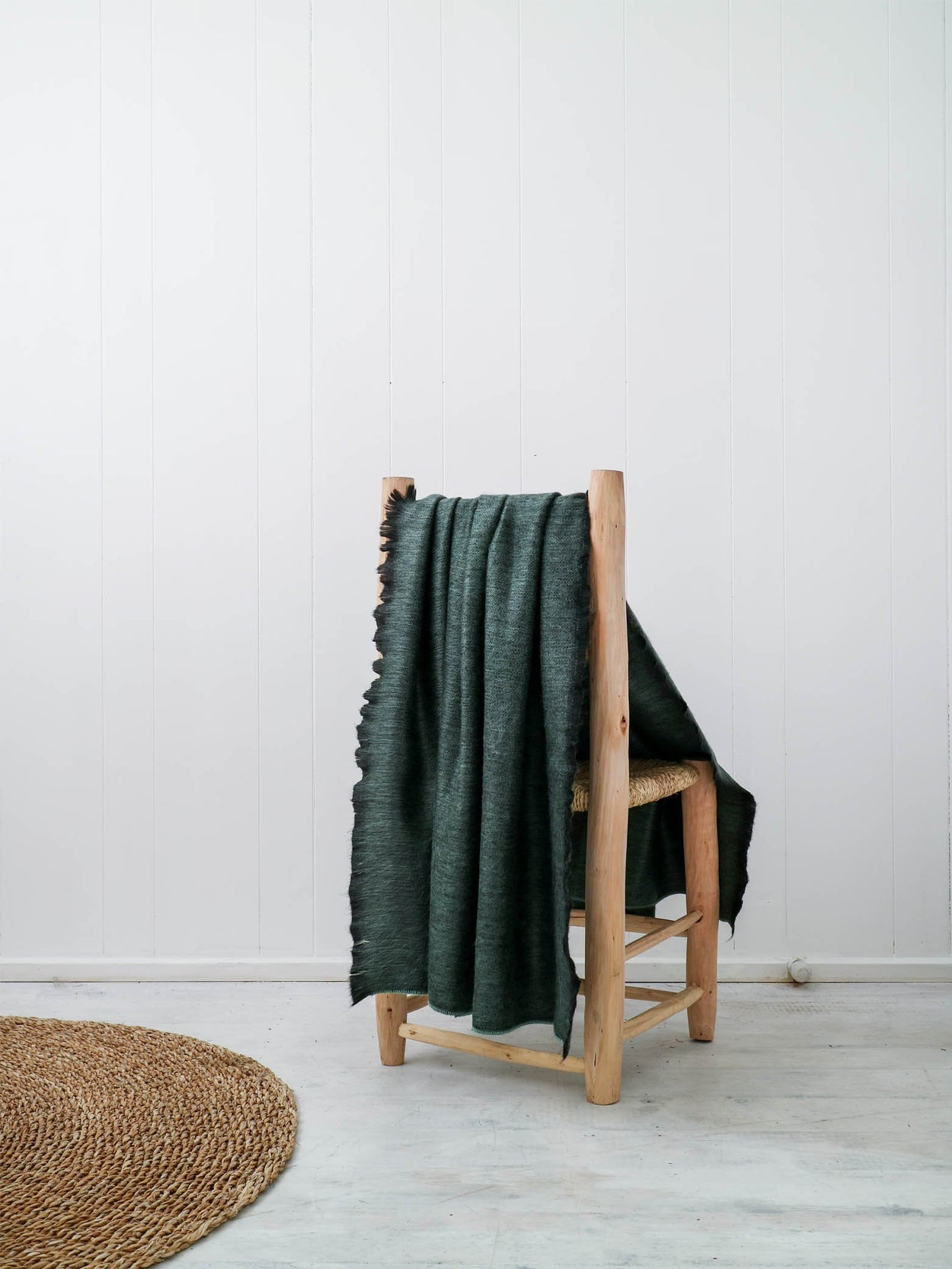 Fringed Throw | Forest Small