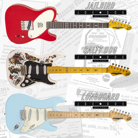 Joe Doe guitars are limited to only 100 models of each worldwide.