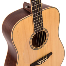 Load image into Gallery viewer, Vintage V501 Acoustic Dreadnought ~ Satin Natural - Left Hand