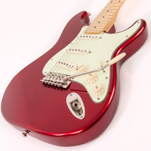 Load image into Gallery viewer, Vintage V6 John Verity Signature Electric Guitar ~ Candy Apple Red